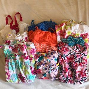 Lot of 10 Girls Dresses Gap Kids, Penelope 5/6/6X